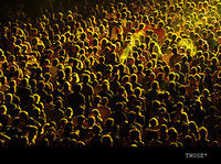 Photo Of Yellow Crowd By Twose On Flickr.com Used With Gratitude Under A Creative Commons License Click Photo For Terms